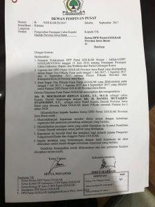 Siapa Penyebar Surat Bodong DPP Golkar