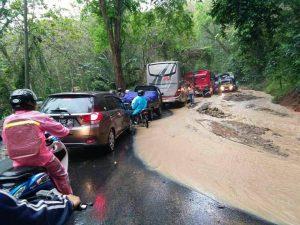 Foto-foto Banjir dan Longsor Kabupaten Pangandaran