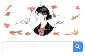 136 Tahun Virginia Woolf di Halaman Google