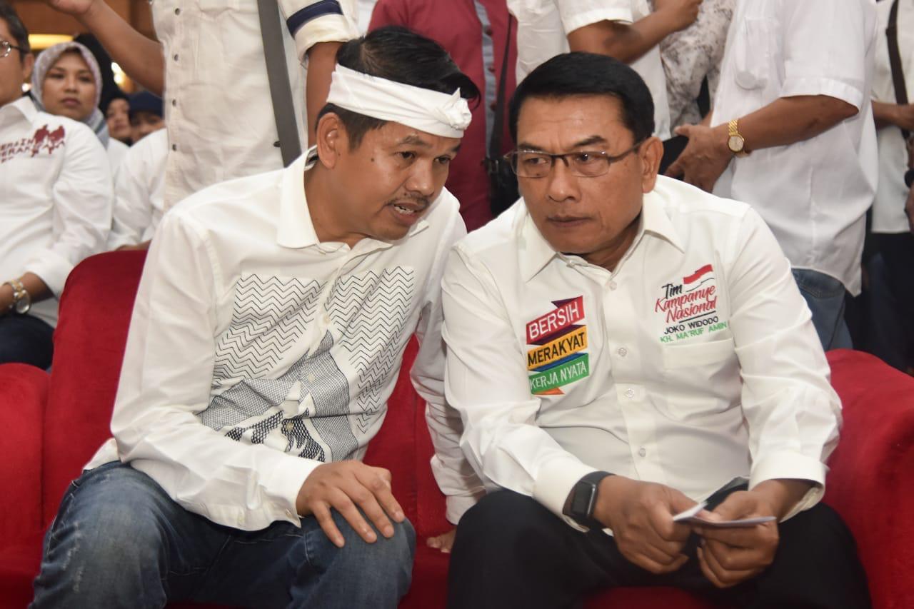 Jika Jokowi-Ma'ruf Menang di Pilpres 2019, Dedi Mulyadi Nadzar Robohkan 1000 Rumah Janda Tua