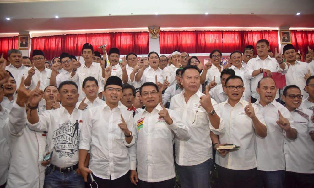 Resmi Dikukuhkan, Tim Jokowi-Ma'ruf Jawa Barat Nyatakan Perang Terhadap Hoax