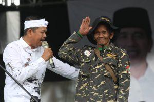 Banser 76 Tahun Dukung Jokowi, Alasannya Bikin Haru