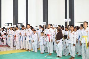 21 Perguruan Karate se-Purwakarta Ikut Bertanding dalam Piala Kadisdik 2019