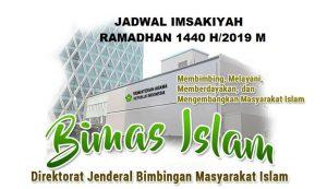 Jadwal Imsakiyah Ramadhan Kabupaten Karawang 2019