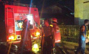 Bengkel Milik Deden di Campaka Terbakar Api, Bangunan dan 1 Unit Motor Hangus