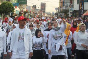 20.000 Peserta Meriahkan Jalan Sehat Hari Jadi Purwakarta 2019