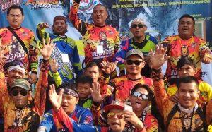 700-an Pebalap Motor Trail se-Purwakarta Ngabaso Bari Sodaqoh