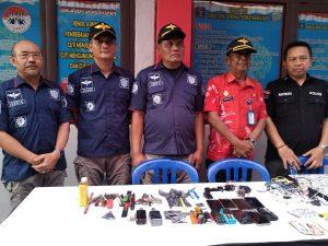 Petugas Temukan Sajam dan Handphone di Dalam Lapas Purwakarta