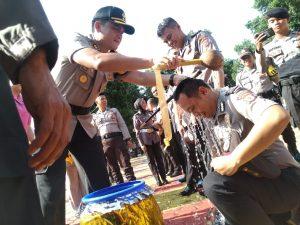 104 Personil Polres Purwakarta Resmi Naik Pangkat