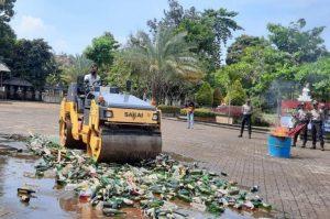 18.700 Obat Terlarang dan Miras Dimusnahkan Polres Purwakarta