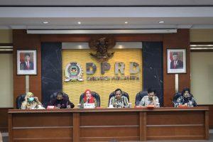 Bapemperda DPRD Purwakarta Bahas 4 Raperda Usulan Pemda dan DPRD