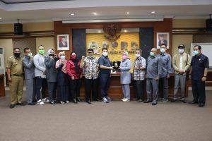DPRD Purwakarta Terima Kunjungan Pansus DPRD Karawang