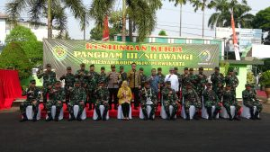 Pimpinan DPRD Purwakarta Hadiri Undangan Kunjungan Kerja Pangdam III Siliwangi