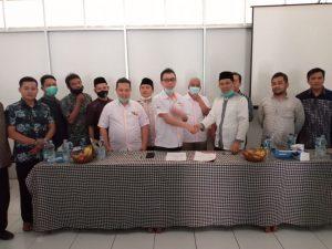 PCNU Purwakarta MoU dengan LeuMart Bangun Distributor Center Produk Ritel