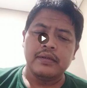 Sebelum Meninggal Ketua GIBAS Purwakarta Rekam Video Dirinya Positif Covid-19