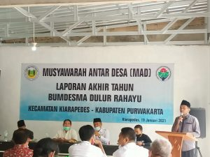 Laba Bersih 500 Juta, Bumdesma Dulur Rahayu Sumbang PADes 10 Desa