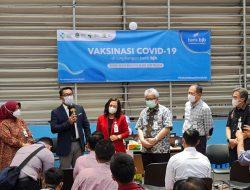 Dukung Program Pemerintah, 4500 Pegawai Bank bjb & Masyarakat Divaksin Covid-19