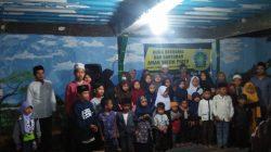 Saung Tawashul dan Sholawat Al-Maun Nangewer Santuni 70 Anak Yatim Piatu